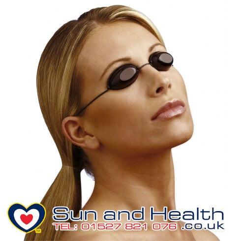 UV Sunbed Eye Protection Goggles Fast UK Delivery