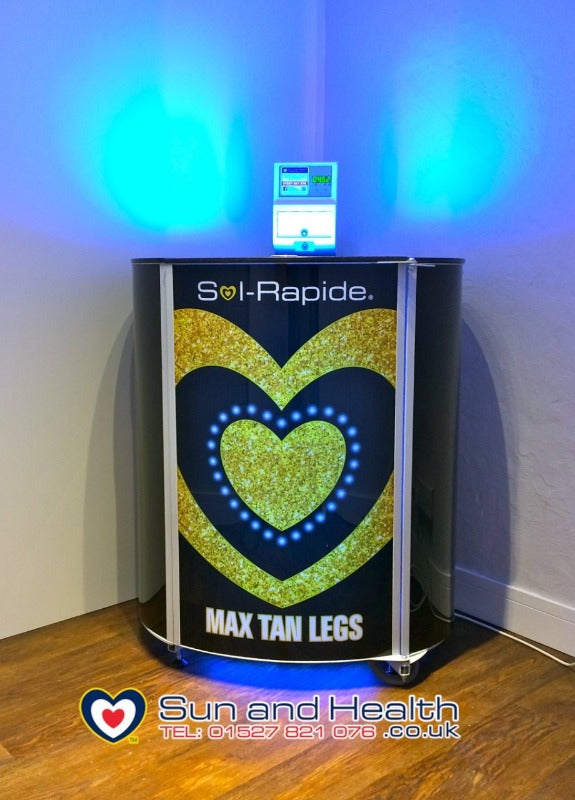 Sol-Rapide Vertical Leg Tanner Sunbed, Windsor, Berkshire, Sun and Health