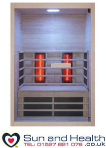Sentiotec, Venus Vital, Home Sauna, Infrared Sauna, Saunas UK, Far Infrared Sauna, Finnish Sauna