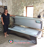Hapro Onyx, New Home Sunbed, Anglesey, Wales, UK, Sun and Health