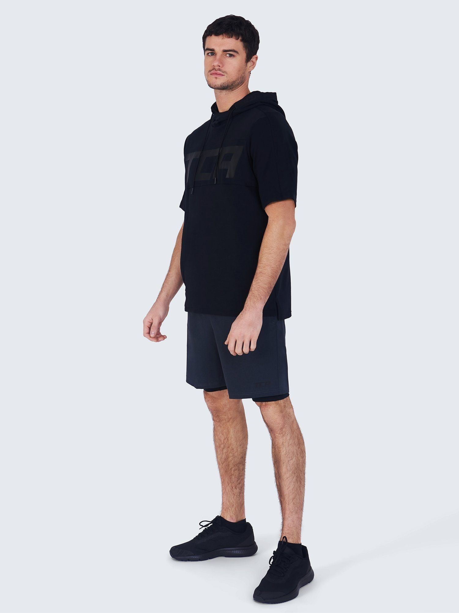 TCA Tech Pack: Challenger Sweat Tech Hoodie + Utility 2-in-1 Short