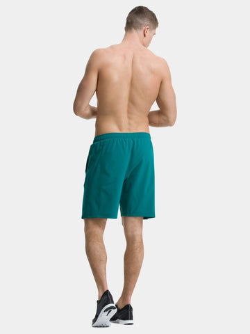 TCA Natural Performance Men's Gym & Running Short - Green