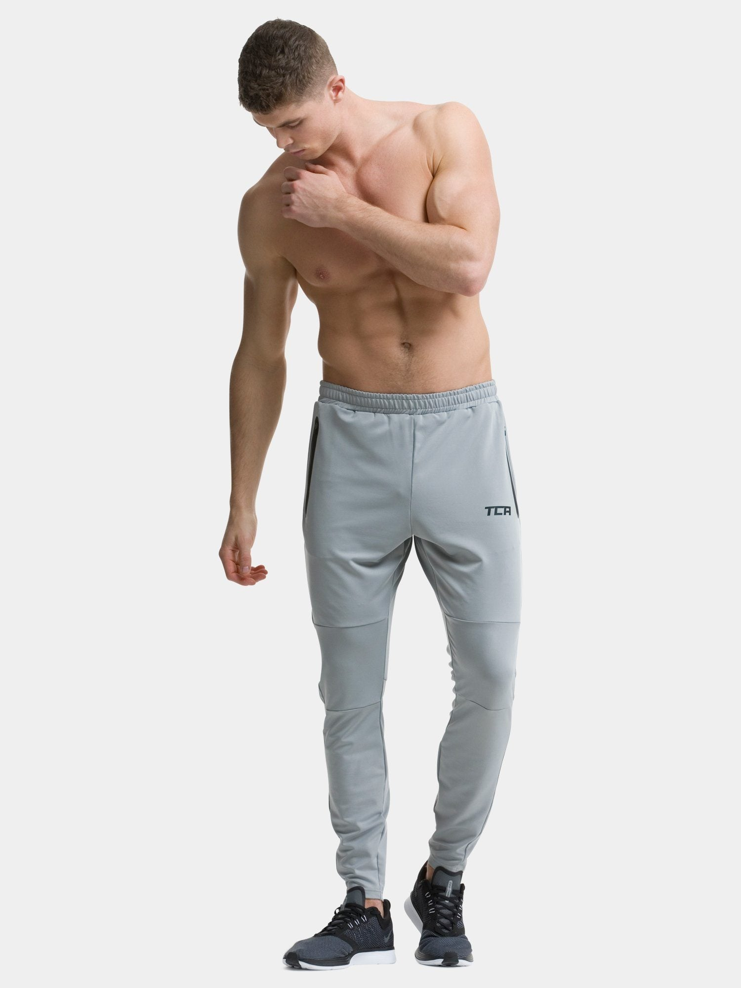 Cool Grey Rapid Track Pant - Action