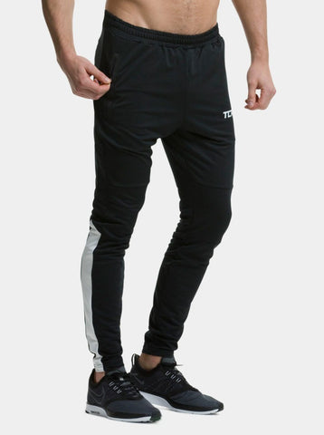 Black / White Rapid Track Pant - Action