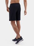 Black Endurance Running Shorts - Back
