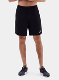 TCA Endurance Men's 2-in-1 Running Shorts - Black