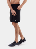 Black Endurance 2-in-1 Running Shorts - Action