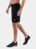 Black Endurance 2-in-1 Running Shorts - Side
