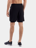 Black Endurance 2-in-1 Running Shorts - Back