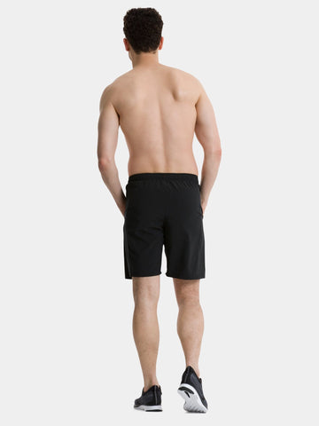 TCA Natural Performance Men's Gym & Running Short - Black