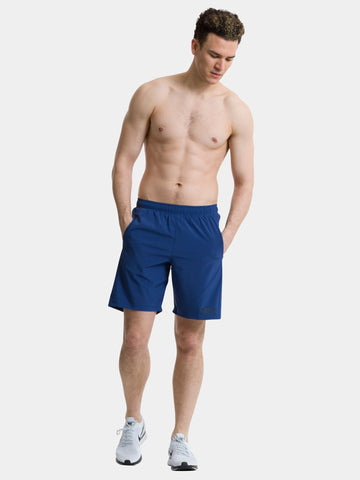 TCA Natural Performance Men's Gym & Running Short - Navy