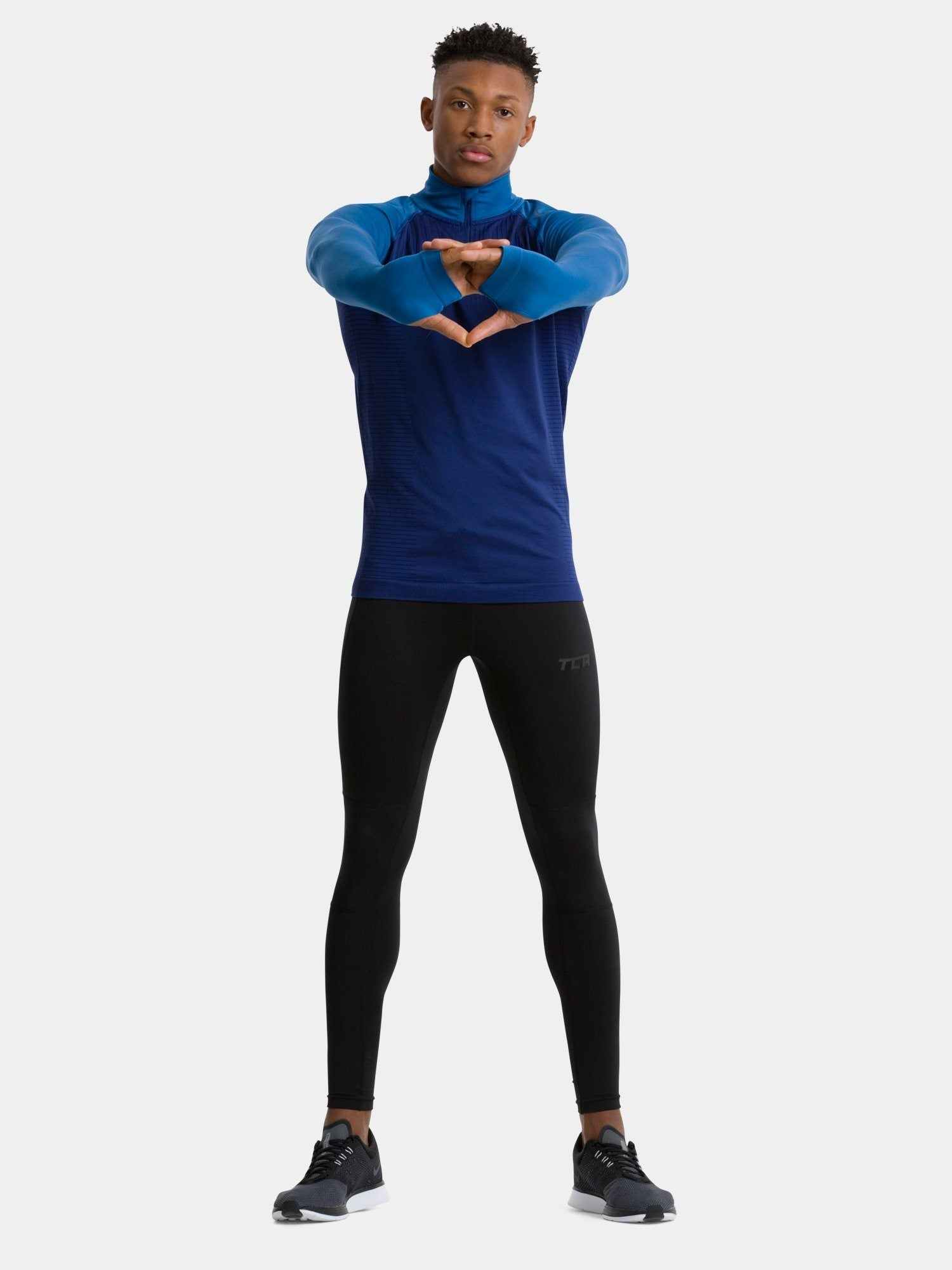 Blue Legend SuperKnit Top - Action