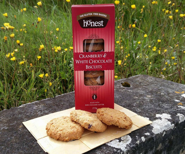 Gluten Free Cranberry & White Chocolate Biscuits Product Image