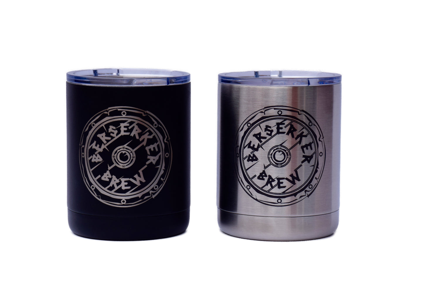 10 oz Powder Coated Bourbon Tumbler - BerserkerBrew.com