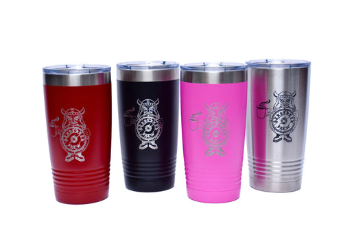 20 oz Powder Coated Tumbler - BerserkerBrew.com