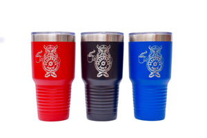 30 oz Powder Coated Tumbler