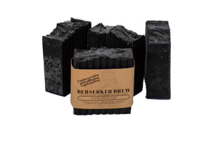 All Natural Coffee Tea Tree Scrub Soap - BerserkerBrew.com