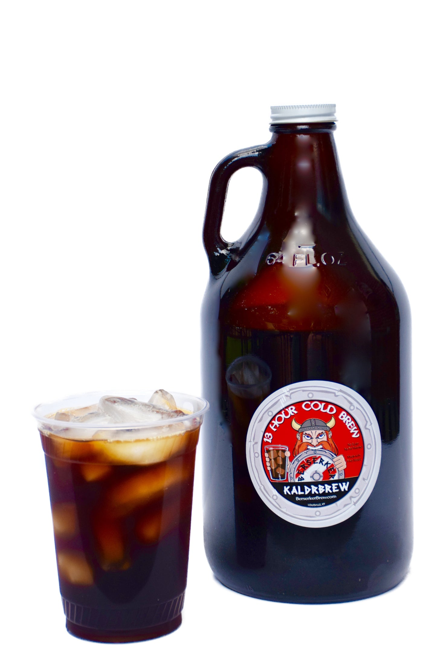 *AVAILABLE IN LOUISVILLE, KY ONLY* Kaldrbrew Cold Brew Growler - BerserkerBrew.com