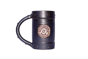 Hand Thrown Ceramic Logo Mug - BerserkerBrew.com