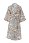 Long Robe in Rhino Grey