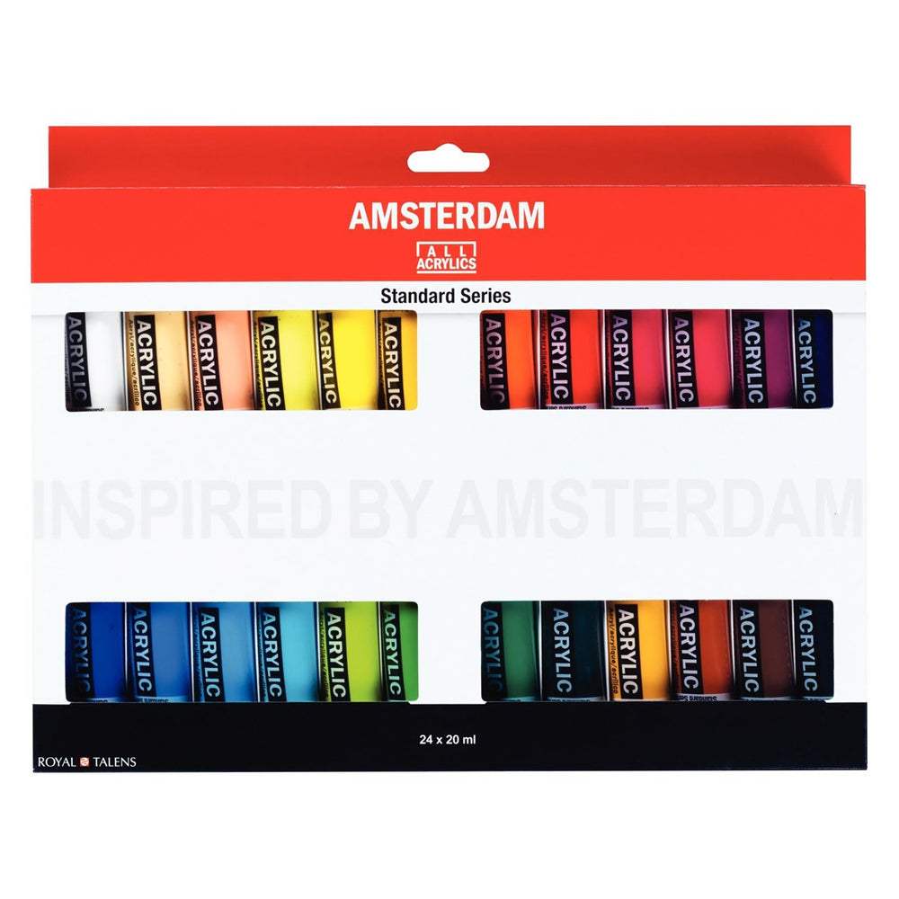 Royal Talens Amsterdam Acrylic Set 24 x 20ml