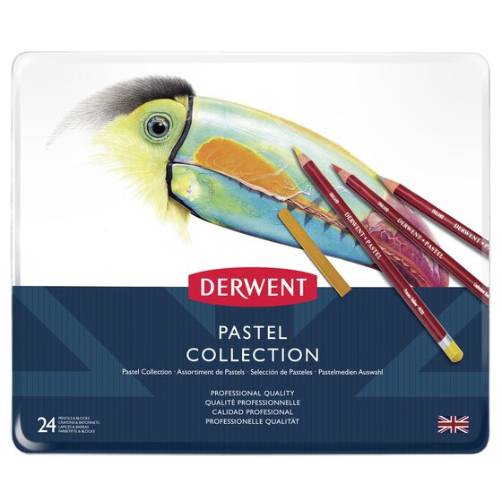 Derwent Pastel Collection 24 Piece Tin