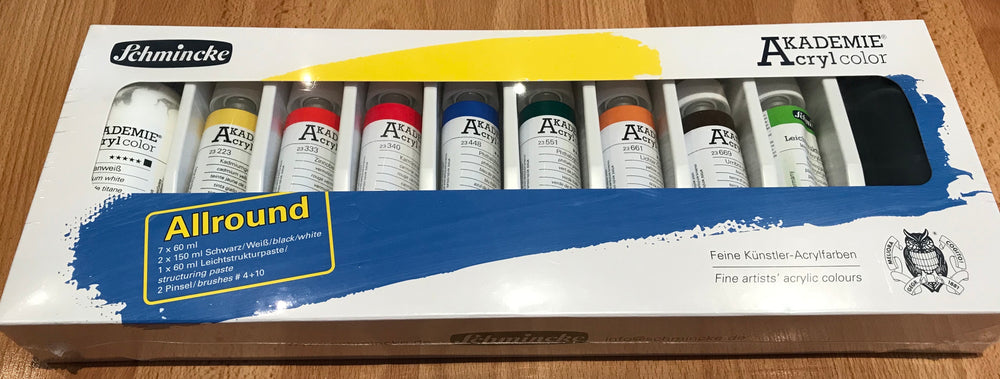 Schmincke Akademie Acryl Colour Assorted Set