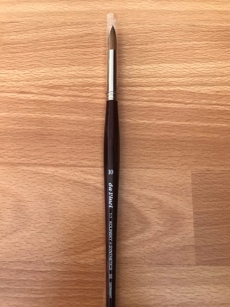 Da Vinci Kolinsky and Synthetics Brush Size 10