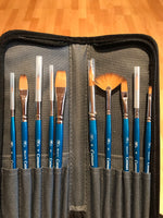 Winsor & Newton Cotman Watercolour Brushes in Wallet Set