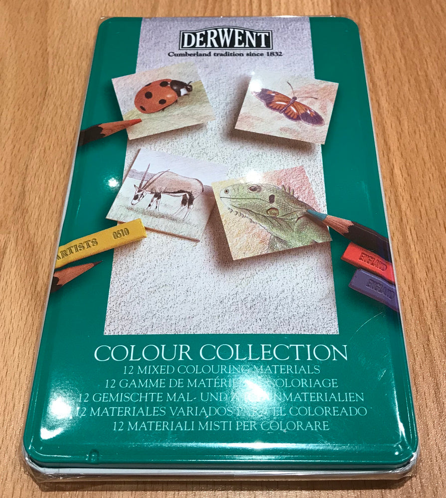 Derwent Colour Collection 12 Piece Tin