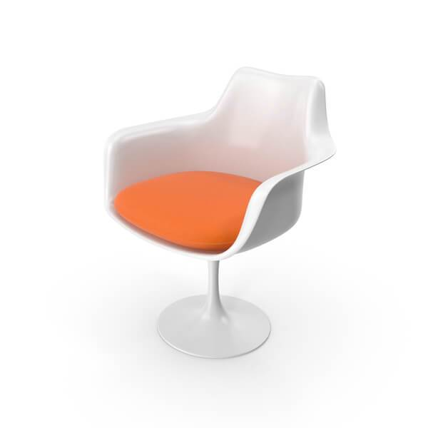 Tulip Chair With Arms