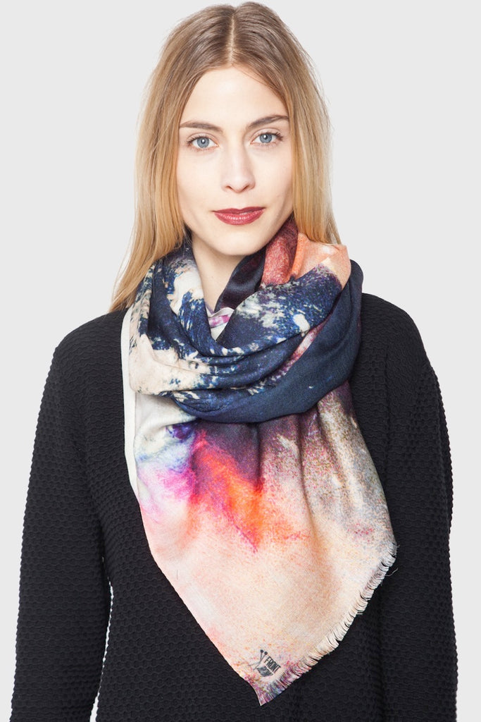 Clouded Vision Cashmere Scarf