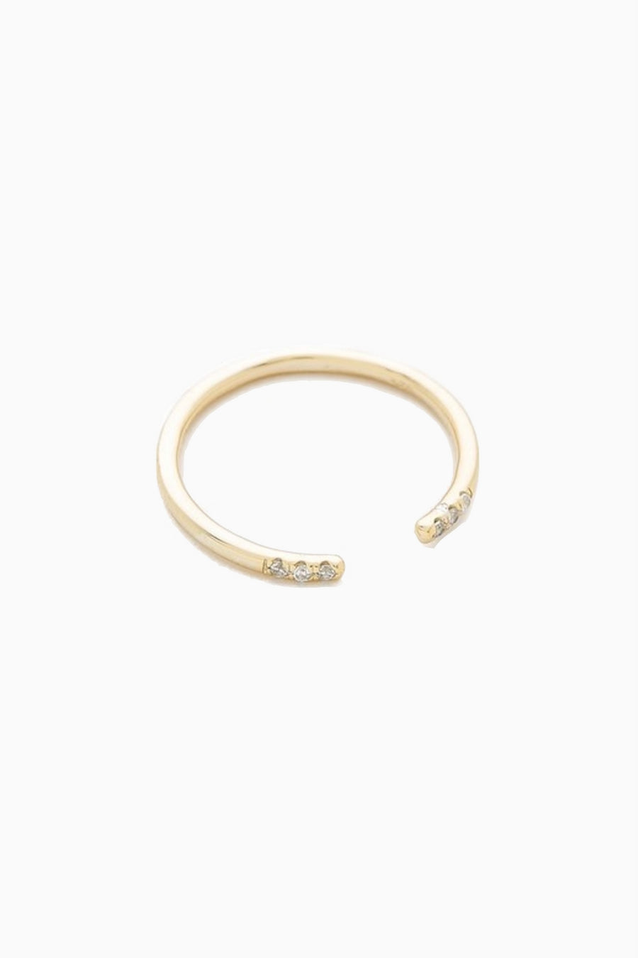 Ava Open Gold Ring