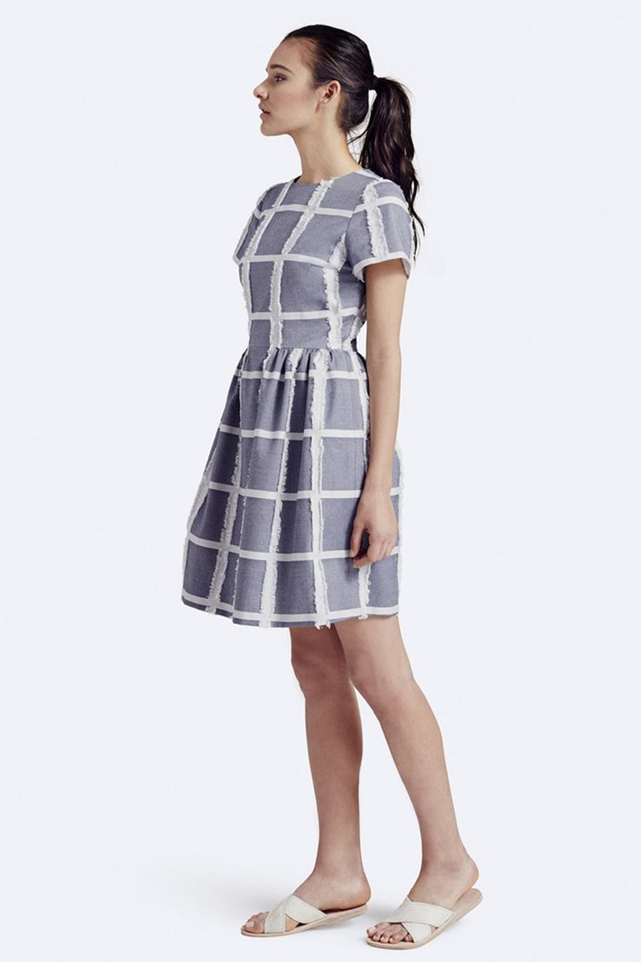 Rallier Ink Patricia Dress Front