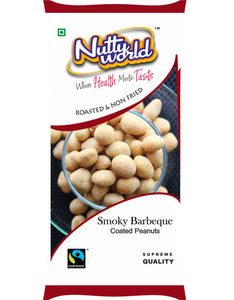 Smoky Barbeque Coated Peanuts
