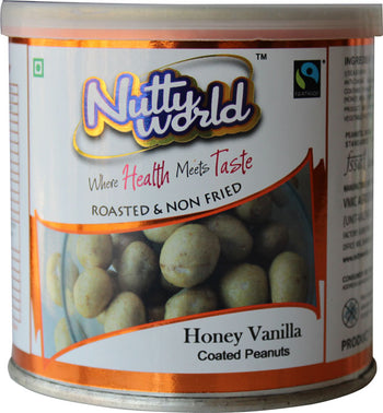 Honey Vanilla Coated Peanuts