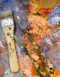 How to Paint with a Palette Knife