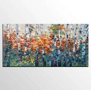 Buyer's Reviews on the Birch Tree Painting Receive