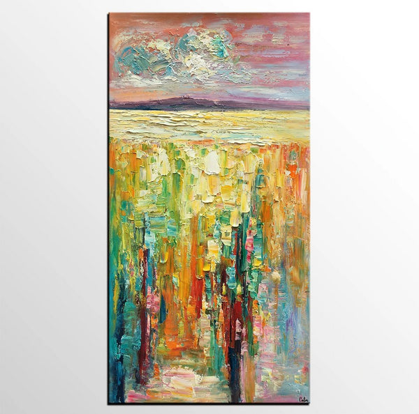 Extra large canvas painting, huge paintings, heavy texture paintings, abstract wall art