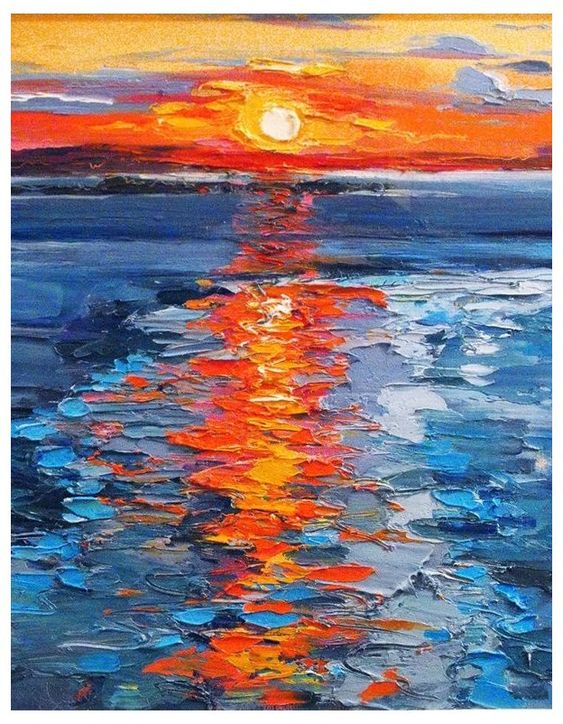 40 Easy Painting Ideas for Kids, Simple Painting Ideas for Beginners, Easy Acrylic Painting on Canvas, Easy Landscape Painting Ideas, Easy Sunrise Wall Art Paintings