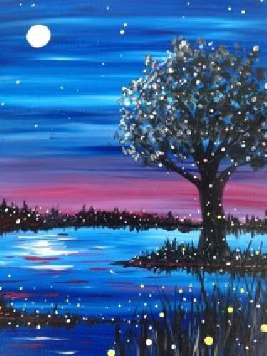 40 Easy Painting Ideas for Beginners, Simple Painting Ideas for Kids, Easy Acrylic Painting on Canvas, Easy Landscape Painting Ideas, Easy tree Wall Art Paintings