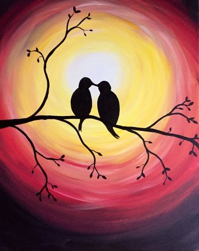 40 Easy Painting Ideas for Kids, Easy Acrylic Painting on Canvas, Easy Landscape Painting Ideas,  Simple Painting Ideas for Beginners, Easy Bird Wall Art Paintings