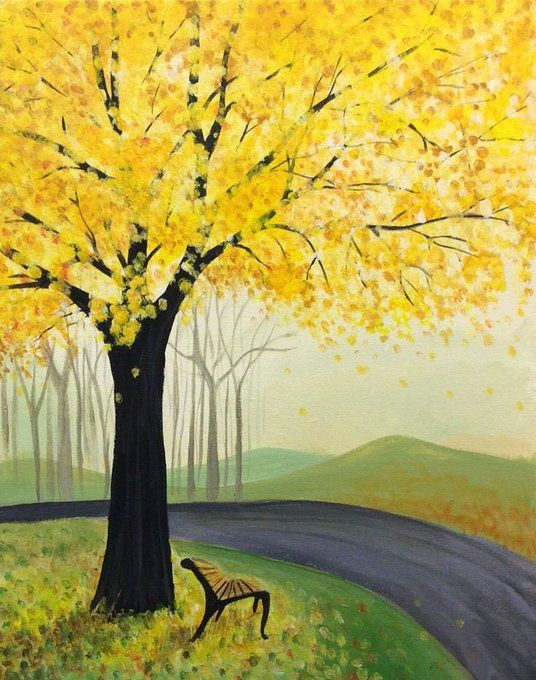 50 Easy Painting Ideas for Beginners, Simple Tree Painting Ideas for Kids, Easy Acrylic Painting on Canvas, Easy Landscape Painting Ideas, Easy Abstract Wall Art Paintings