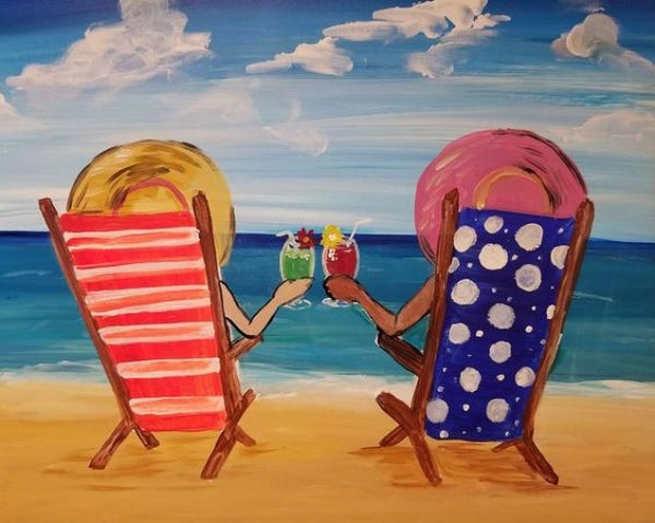 40 Easy Landscape Painting Ideas, Easy Painting Ideas for Kids, Easy Acrylic Painting on Canvas, Simple Painting Ideas for Beginners, Easy Seashore Beach Wall Art Paintings