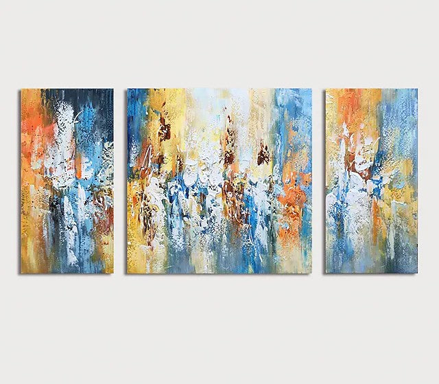 Modern Paintings for Living Room, Acrylic Painting on Canvas, Hand Painted Canvas Art, Palette Knife Paintings