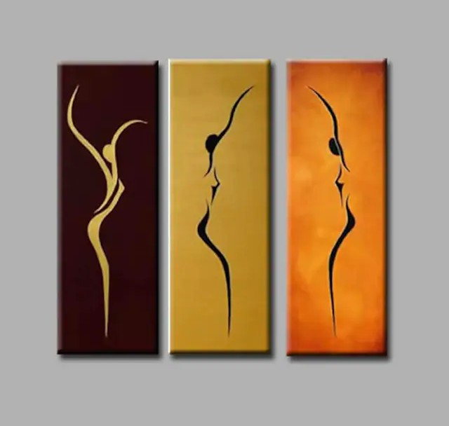 Simple Painting Ideas for Living Room, Hand Painted Wall Art, Acrylic Painting on Canvas