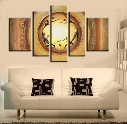 Large Painting for Sale, Heavy Texture Painting, Hand Painted Canvas Art, Acrylic Painting on Canvas