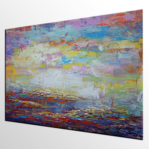 Original Wall Art, Abstract Landscape Painting, Large Art, Canvas Art, Wall Art, Living Room Art, Canvas Painting, Contemporary Art 135