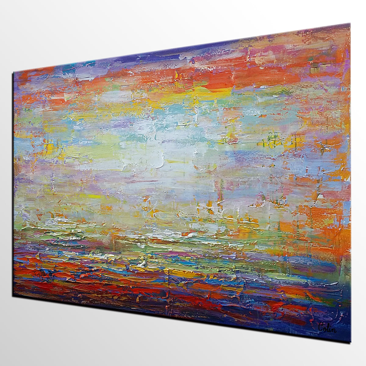 Canvas Painting Original Wall Art Living Room Large