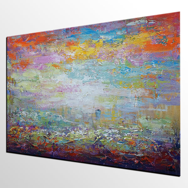 Wall Art, Modern Painting, Original Wall Art, Landscape Painting, Large Art, Canvas Art, Original Artwork, Canvas Painting, Modern Art, Abstract Art 142 - artworkcanvas